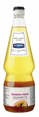 HELLMANN'S Passion Fruit Vinaigrette, 6 x 1L