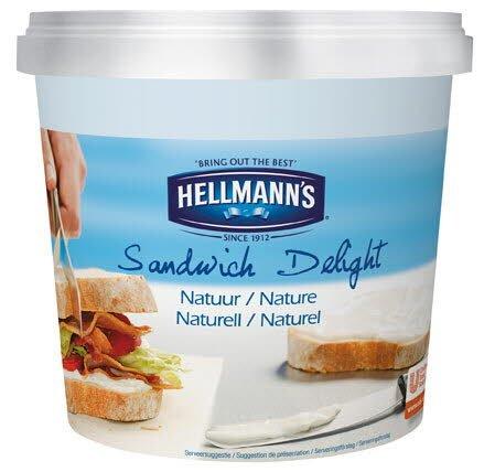 HELLMANN'S Sandwich Delight, Naturell 1 x 1,5 kg -
