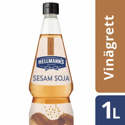 HELLMANN'S Sesame Soy Vinaigrette, 6 x 1L