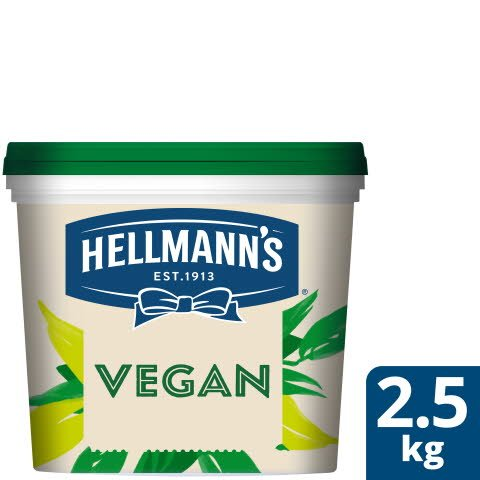 Hellmann`s Vegan Mayonnaise hink, 72 %, 1 x 2,5 kg