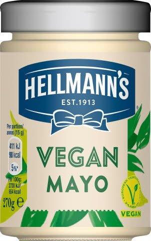 HELLMANN'S Vegansk majonnäs, 6 x 270 g  -