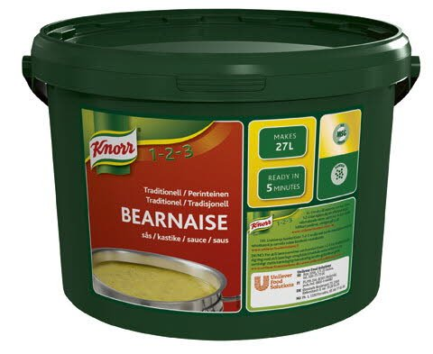 Knorr Bearnaisesås, traditionell, pulver 1 x 3 kg