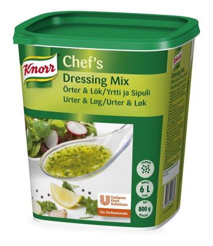 Knorr Dressingmix, Ört & Lök 3 x 0,8 kg -