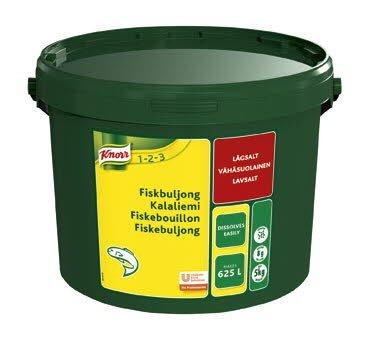 Knorr Fiskbuljong, lågsalt, pulver 1 x 5 kg