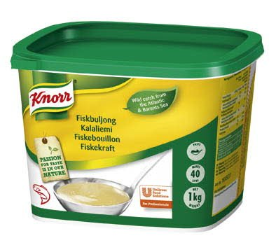 Knorr Fiskbuljong, pasta 2 x 1 kg