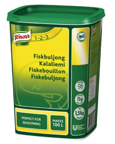 Knorr Fiskbuljong, pulver 3 x 1,5 kg