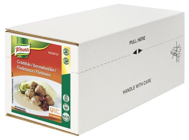 Knorr Gräddsås 4 x 2,5 L