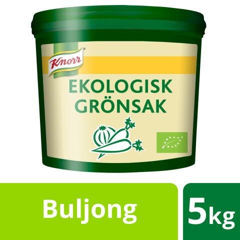 Knorr Grönsaksbuljong Ekologisk, pulver 1 x 5kg