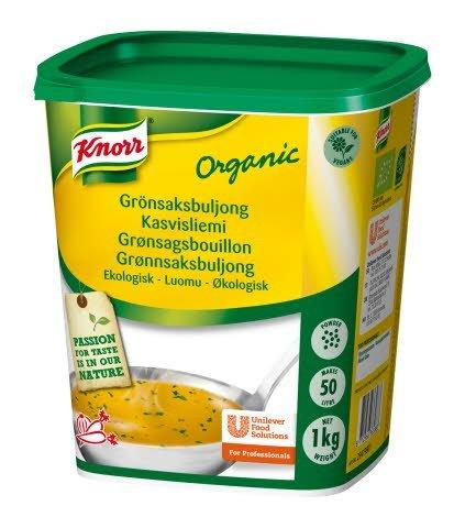 Knorr Grönsaksbuljong Ekologisk, pulver 3 x 1 kg