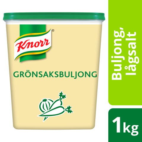 Knorr Grönsaksbuljong lågsalt 3x1kg