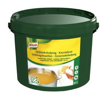 Knorr Grönsaksbuljong, mycket låg salthalt <0,1% 1 x 5 kg