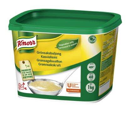 Knorr Grönsaksbuljong, pasta 2 x 1 kg