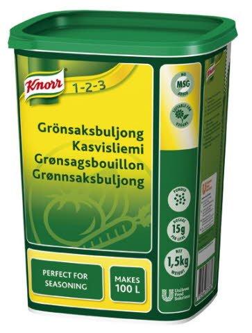 Knorr Grönsaksbuljong, pulver 3 x 1,5 kg