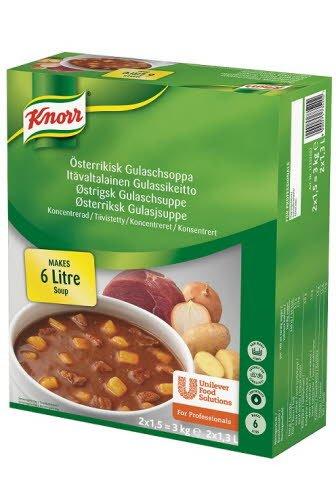 Knorr Gulaschsoppa, Österrikisk, konc. 2 x 1,5 kg