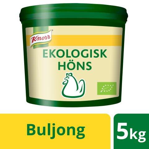 Knorr Hönsbuljong Ekologisk, pulver 1 x 5kg