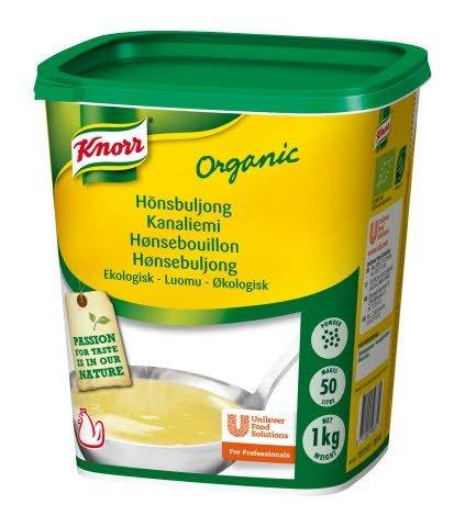 Knorr Hönsbuljong Ekologisk, pulver 3 x 1 kg