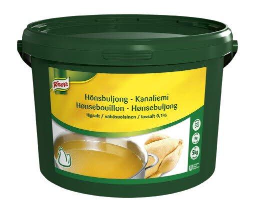 Knorr Hönsbuljong, lågsalt 0,1% 1 x 5 kg