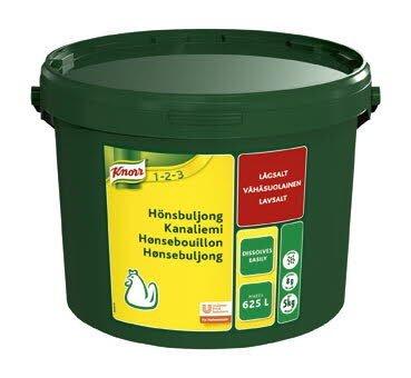 Knorr Hönsbuljong, lågsalt, pulver 1 x 5 kg