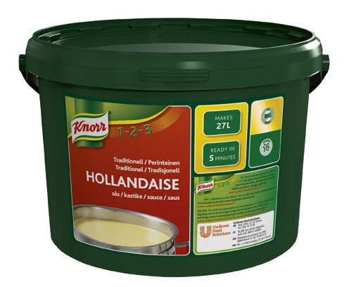 Knorr Hollandaisesås, traditionell, pulver 1 x 3,4 kg