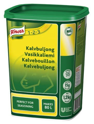 Knorr Kalvbuljong, pulver 3 x 1,2 kg