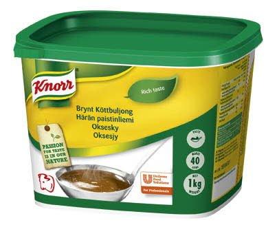 Knorr Köttbuljong, Brynt, pasta 2 x 1 kg - Utgår v 8 - Ersätts av  68202082 -