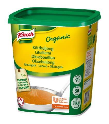 Knorr Köttbuljong Ekologisk, pulver 3 x 1 kg