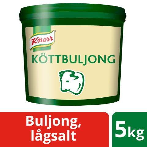 Knorr Köttbuljong lågsalt 1x5kg