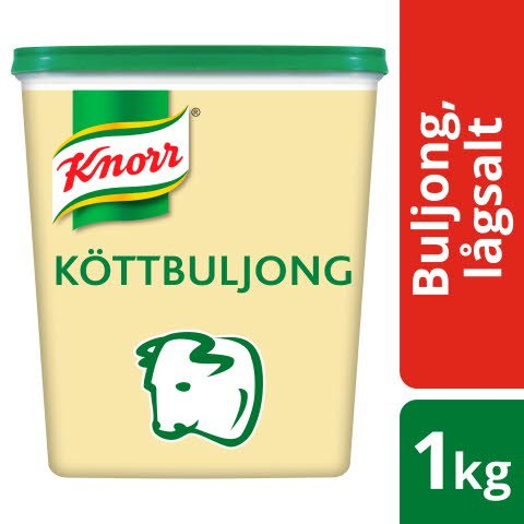 Knorr Köttbuljong lågsalt 3x1kg