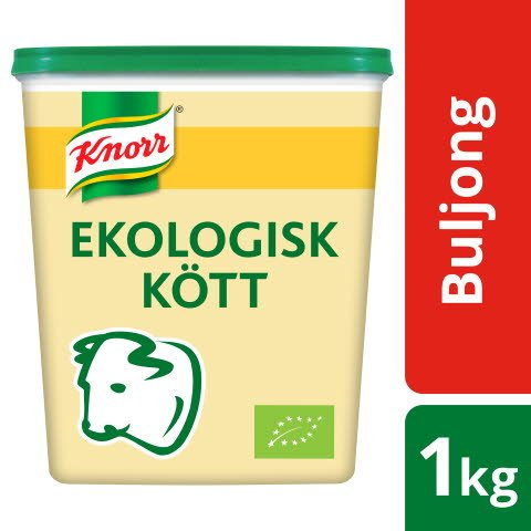 Knorr Köttbuljong, lågsalt, Ekologisk, pulver 3 x1 kg