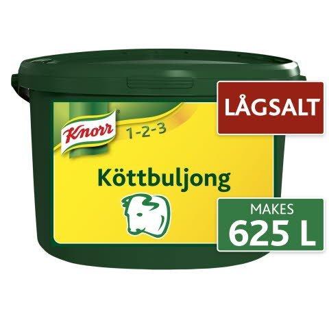 Knorr Köttbuljong, lågsalt, pulver 1 x 5 kg