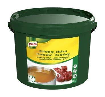 Knorr Köttbuljong, mycket låg salthalt <0,1% 1 x 5 kg