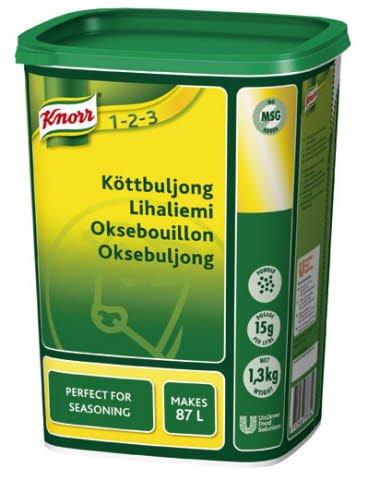Knorr Köttbuljong, pulver 3 x 1,3 kg
