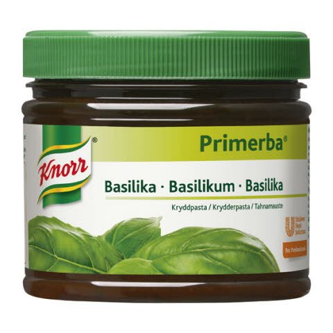 Knorr Kryddpasta Basilika 2 x 0,34 kg