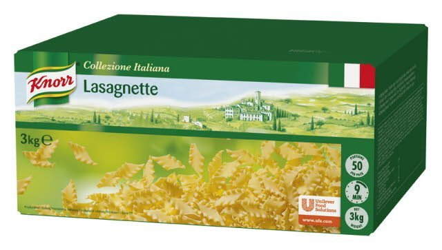 Knorr Lasagnette 1 x 3 kg