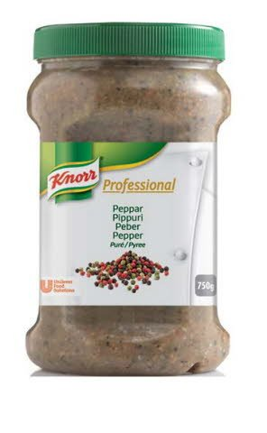 Knorr Professional Peppar kryddpuré 2 x 0,75 kg -