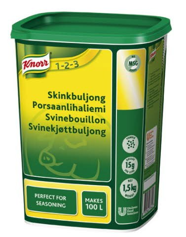 Knorr Skinkbuljong, pulver 3 x 1,5 kg
