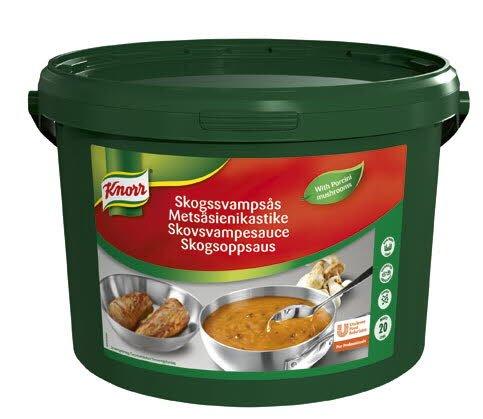 Knorr Skogssvampsås 1 x 3 kg