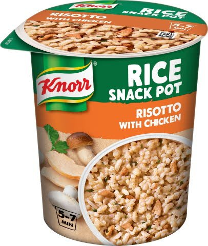 Knorr Snack Pot Risotto, 8 x 75 g