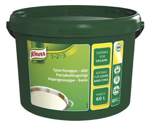 Knorr Sparrissoppa, slät 1 x 3,9 kg