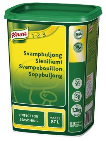 Knorr Svampbuljong, pulver 3 x 1,3 kg