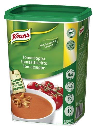 Knorr Tomatsoppa, slät 3 x 1 kg