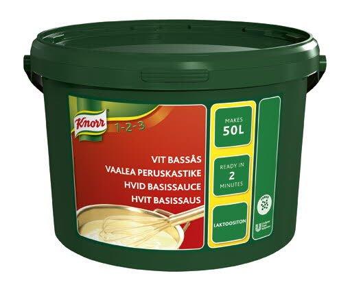 Knorr Vit Bassås 1 x 4,25 kg
