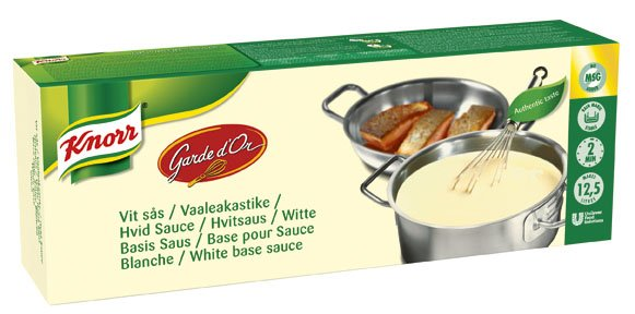 Knorr Vit Sås 2 x 2,5 kg