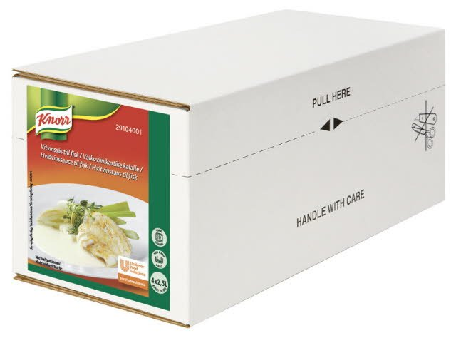 Knorr Vitvinssås till fisk 4 x 2,5 L