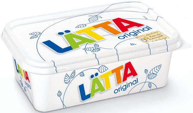 LÄTTA Lättmargarin 16 x 400 g -