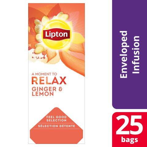 Lipton Classic Citron & Ingefära, 6x25 st