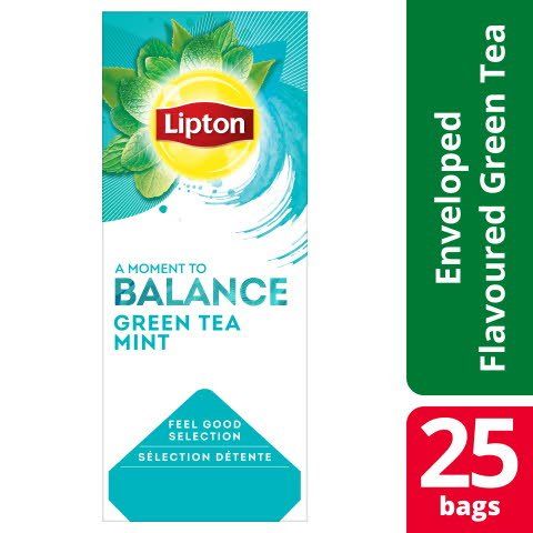 Lipton Classic Green Tea Mint 6 x 25 påsar