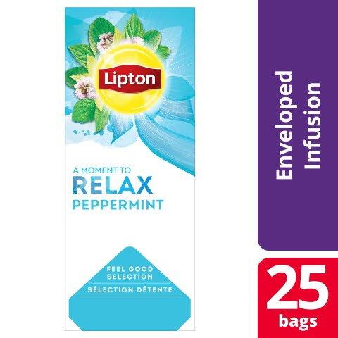 Lipton Classic Pepparmint Infusion, Örtte 6 x 25 påsar