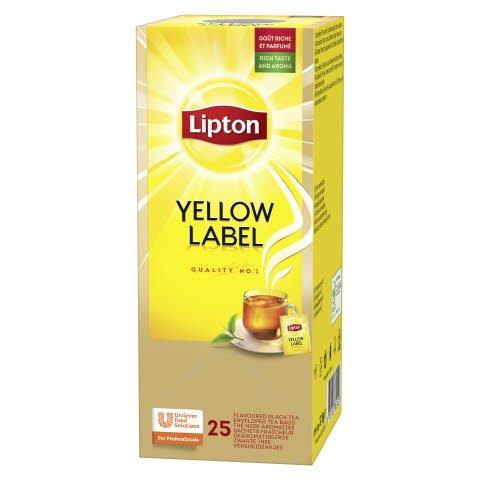 Lipton Classic Yellow Label Tea 6 x 25 påsar