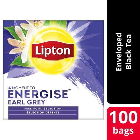 Lipton Earl Grey 12 x 100 påsar